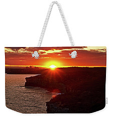 August Sunset From North Head Weekender Tote Bag