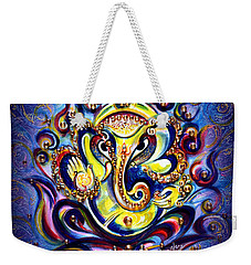 Aum Ganesha - Bliss Weekender Tote Bag