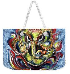 Aum Ganesha Weekender Tote Bag