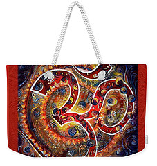 Aum - Vibrations Of Supreme Weekender Tote Bag