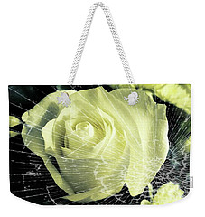Aunt Edna's Rose Weekender Tote Bag by Rachel Hannah