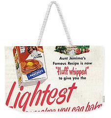 Aunt Jemima Pancakes Weekender Tote Bag