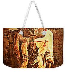 Auntie Weekender Tote Bag by Vannetta Ferguson