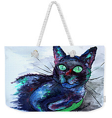 Aunt's Beautiful Companion, Ms. Biscuit Weekender Tote Bag