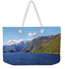 Aurlandsfjord Weekender Tote Bag