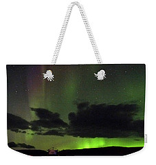 Aurora Activity Iceland Weekender Tote Bag