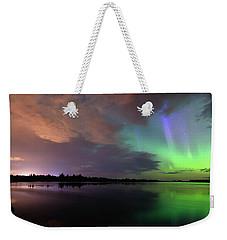 Aurora And Storm Clouds Weekender Tote Bag