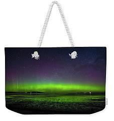 Weekender Tote Bag featuring the photograph Aurora Australia by Odille Esmonde-Morgan