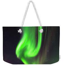 Aurora Burst Weekender Tote Bag by Allen Biedrzycki