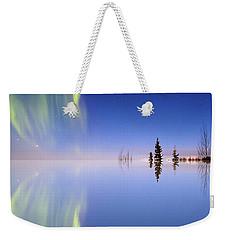 Aurora Mirrored Weekender Tote Bag