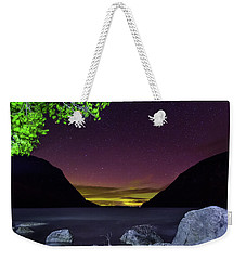 Aurora Over Lake Willoughby Weekender Tote Bag