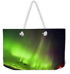 Aurora Southern Iceland Weekender Tote Bag