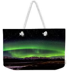 Aurora Spiral Weekender Tote Bag