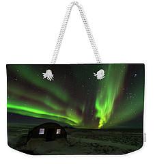 Aurora Storm Weekender Tote Bag