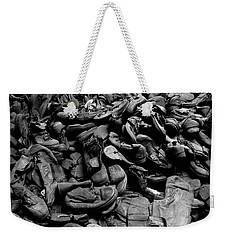 Auschwitz-birkenau Shoes Weekender Tote Bag