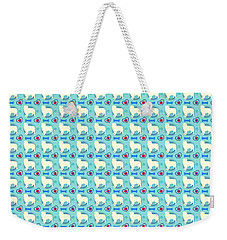 Aussie Dog Pattern Weekender Tote Bag