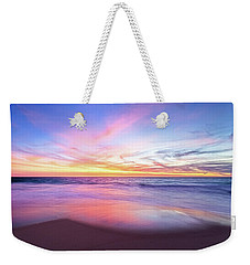 Weekender Tote Bag featuring the photograph Aussie Sunset, Claytons Beach, Mindarie by Dave Catley