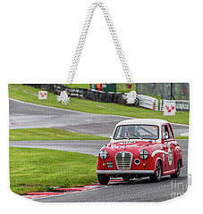 Weekender Tote Bag featuring the photograph Austin A35  by Adrian Evans