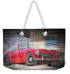 Austin Healey Chalk Study 4 Weekender Tote Bag