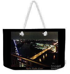 Austin Nights Split Paths East Weekender Tote Bag by Felipe Adan Lerma