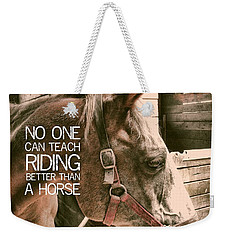 Austin Quote Weekender Tote Bag