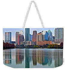 Austin Shimmer  Weekender Tote Bag by Frozen in Time Fine Art Photography