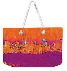 Austin Skyline Electric Weekender Tote Bag