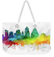 Austin Skyline Mmr-ustxau05 Weekender Tote Bag by Aged Pixel