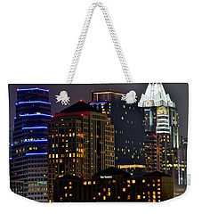 Austin Up Close Weekender Tote Bag