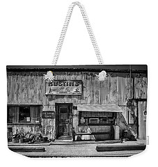 Austin's Garage Weekender Tote Bag by Hugh Smith