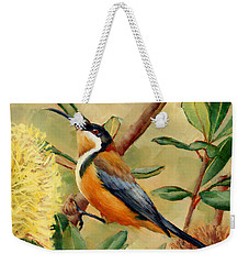 Australian Eastern Spinebill  Weekender Tote Bag