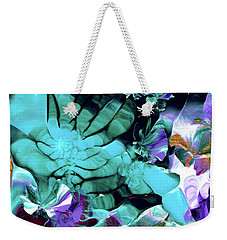 Australian Emerald Begonias Weekender Tote Bag