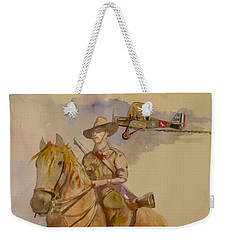 Australian Light Horse Regiment. Weekender Tote Bag by Ray Agius