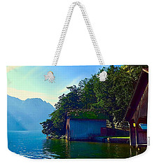 Austrian Alps Weekender Tote Bag
