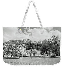 Weekender Tote Bag featuring the photograph Austrian Landscape by Brooke T Ryan