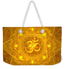 Authentic Om  Weekender Tote Bag