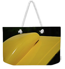 Weekender Tote Bag featuring the photograph Auto Artsy by John Schneider