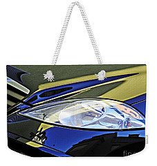 Auto Headlight 189 Weekender Tote Bag by Sarah Loft