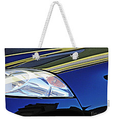 Auto Headlight 190 Weekender Tote Bag by Sarah Loft