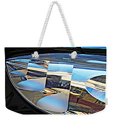 Auto Headlight 193 Weekender Tote Bag by Sarah Loft