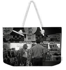 Auto-parts Store, 1972 Weekender Tote Bag
