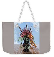 Automne Jardiniere Weekender Tote Bag