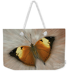 Autumn Leaf Butterfly Zoom Weekender Tote Bag
