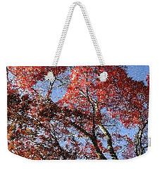 Autum Trees Illustrated Weekender Tote Bag