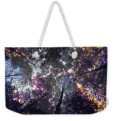 Autumn Abstract Weekender Tote Bag by David Stasiak