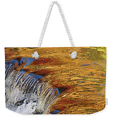 Autumn Abstract Portrait Weekender Tote Bag