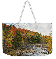 Autumn Adirondack Angling Weekender Tote Bag