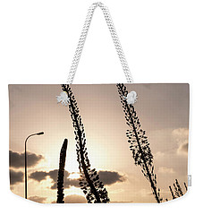 Weekender Tote Bag featuring the photograph Autumn Alarm 02 by Arik Baltinester