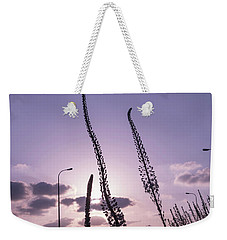 Weekender Tote Bag featuring the photograph Autumn Alarm 03 by Arik Baltinester