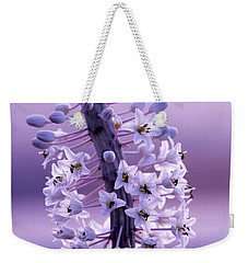 Weekender Tote Bag featuring the photograph Autumn Alarm 04 by Arik Baltinester